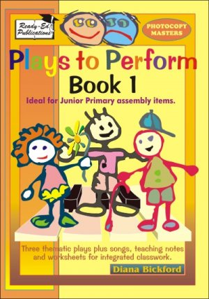 Plays to Perform Book 1 cov