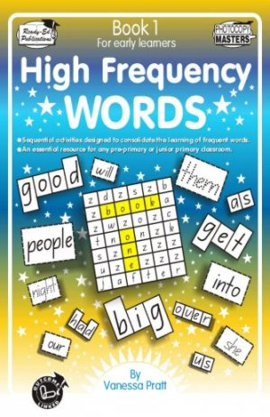 RENZ1030-High Frequency Words Book 1 cov