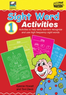 RENZ1054 Sight Words Book 1 cov