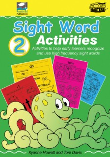 RENZ1055 Sight Words Book 2 cov