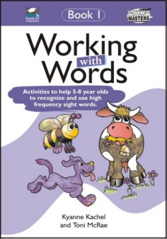 RENZ1075 Working With Words Book 1 cov