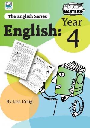 The English Series: Year 4 Cover