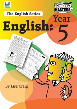 The English Series: Year 5 Cover