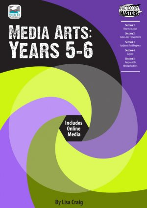 Media Arts: Years 5-6 Cov