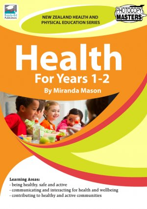 NZHPES Health Years 1-2 Cover