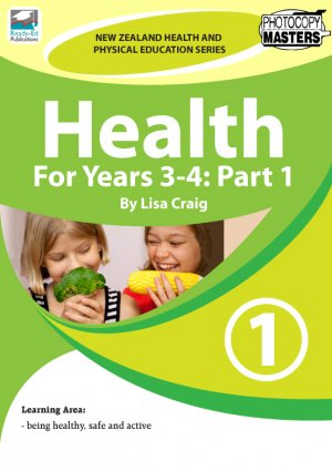 NZHPES Health For Years 3-4 Part 1 Cover