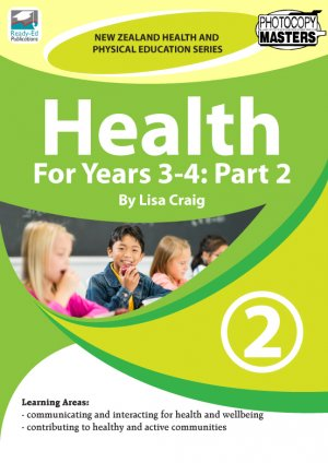 NZHPES Health For Years 3-4 Part 2 Cover