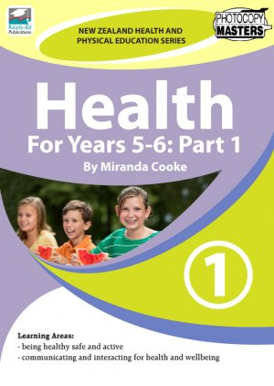NZHPES Health For Years 5-6 Part 1 Cover