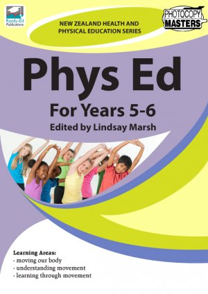 NZHPES Phys Ed For Years 5-6 Cover