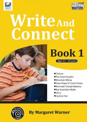 RENZ1154-Write And Connect Book 1 cov